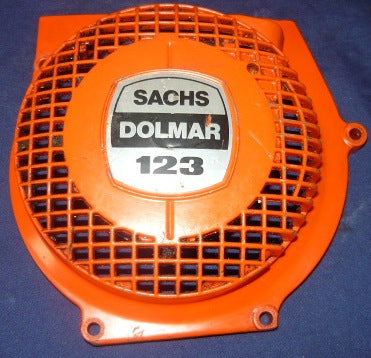 dolmar 123 chainsaw starter housing cover only