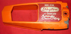 "dayton 14"" model 4z109 chainsaw clutch side cover (loc: poulan 2000 bin)"