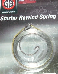 dolmar / makita 112, 114, 117, 119, 122 + others chainsaw starter rewind spring new replaces part # 144 163 010
