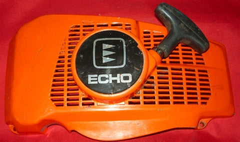 echo cs-500vl chainsaw starter recoil cover and pulley assembly