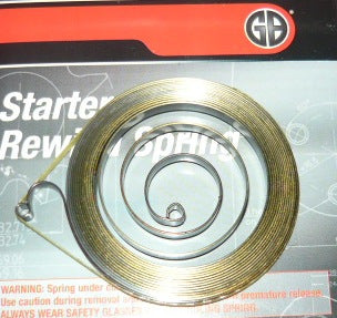 stihl 017, 021, 023, 025, 029 and 039 chainsaw gb starter rewind spring new replaces part # 1129 190 0600