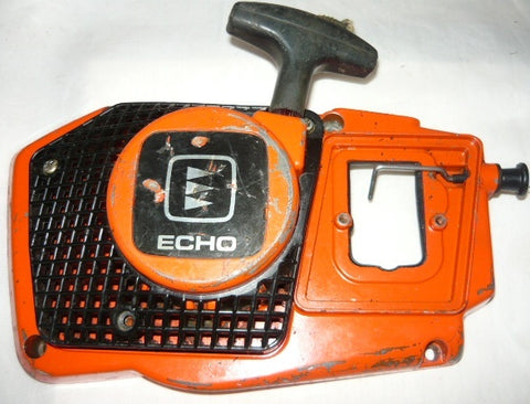 echo cs-452vl chainsaw complete starter/recoil cover and pulley assembly