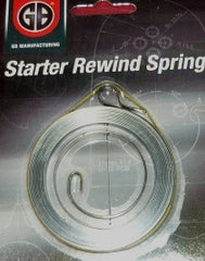 dolmar / makita 112 thru 133, 166, 307, 311 chainsaw gb starter rewind spring new replaces part # 123 163 010