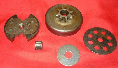 remington mighty mite chainsaw 1/4 clutch assembly