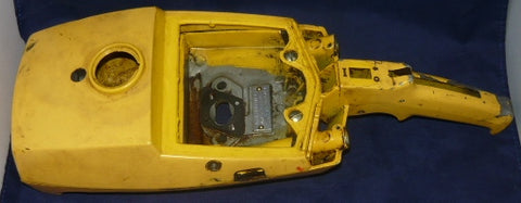 mcculloch pro mac 700 chainsaw fuel tank and cover (bare bones)