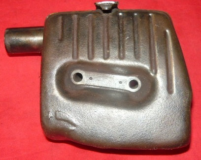 dolmar 133, 143 chainsaw muffler assembly