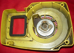 john deere 60v chainsaw starter recoil cover and pulley assembly #1