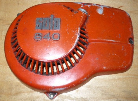 solo 640 chainsaw starter recoil cover only