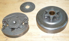 skil 1614 chainsaw 3/8 lp x 6T complete spur clutch assembly