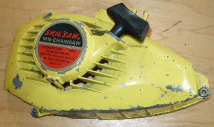 skil 1616 1614 chainsaw complete starter recoil cover and pulley assembly