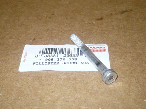 Dolmar 6800i Chainsaw Muffler Bolt 908 206 558 NEW (D-30)