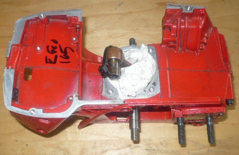 efco 165 chainsaw complete crankcase housing with crankshaft