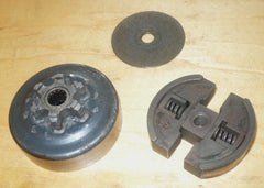 solo 634 chainsaw complete spur drum and clutch assembly