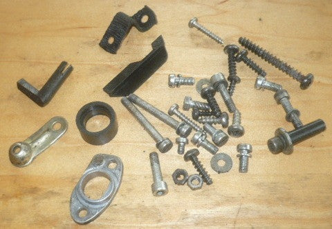 solo 634 chainsaw lot of assorted hardware