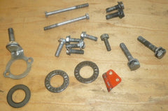 lombard lightning chainsaw lot of assorted hardware