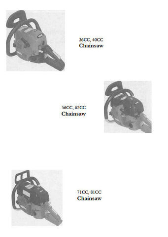 Efco Olympyk Chainsaw Workshop downloadable pdf Service and Repair Manual