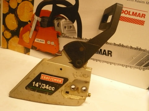 Poulan chainsawr poulan built craftsman chainsaw grey 34cc clutch cover and brake handle greentooth Image collections