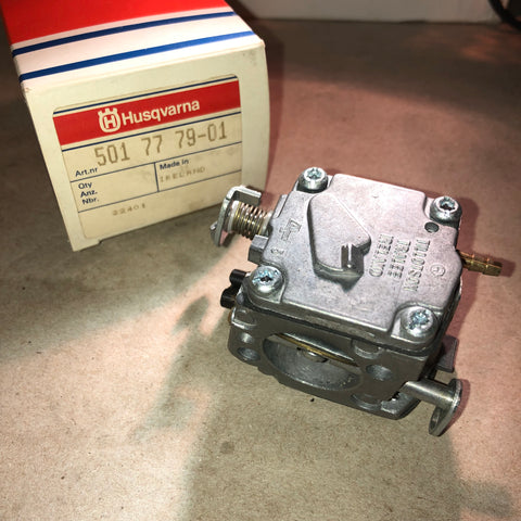 Husqvarna 61, 66, 266 XP Chainsaws Tillotson HS-224A Carburetor Assembly  501 77 79-01 new oem (h-9)