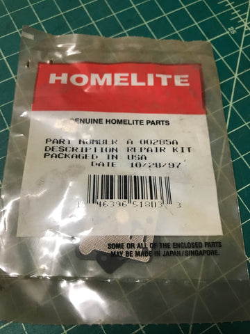 Homelite string trimmer gasket diaphragm repair kit New A-00285-A (HM-7124)