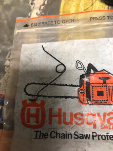 Husqvarna 266xp Chainsaw Safety Spring 501 42 41-01 NEW (N002)