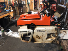 Stihl 041AV FarmBoss Complete Running Serviced Chainsaw 110132878