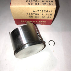 Homelite Super 2 Chainsaw Piston and Pin NEW A-70224-A (HM-2590)