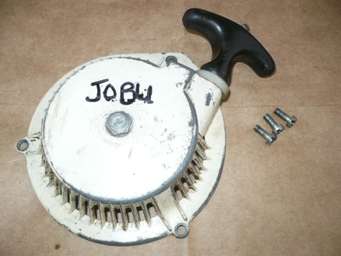 JOBU L 86 Chainsaw Starter Recoil Cover & Pulley Assembly