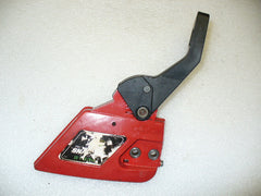 poulan built craftsman chainsaw red clutch cover and brake handle