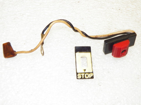John Deere 55sva Chainsaw stop switch