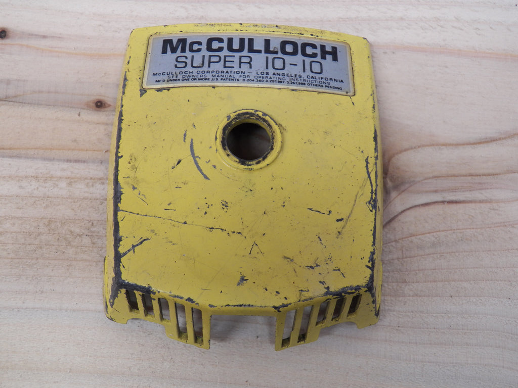 Mcculloch Super 10-10 Chainsaw Yellow Air filter cover