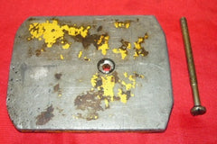 McCulloch SP 81, SP 80 Chainsaw Oil Tank Cover and Screw