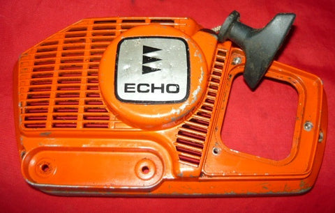 echo cs 351 vl chainsaw starter recoil cover and pulley assembly