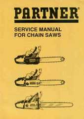 Partner Chainsaw downloadable pdf Service Repair Manual
