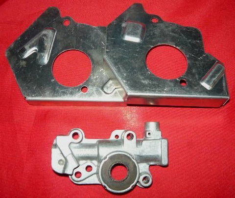 pioneer farmsaw, P50, P42 + chainsaw oil pump and shield set pn 475156 new (box 5)