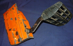 olympic 950 chainsaw clutch cover & brake handle #1