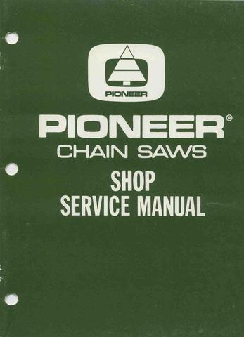 Pioneer Chainsaw downloadable pdf Service Repair Manual
