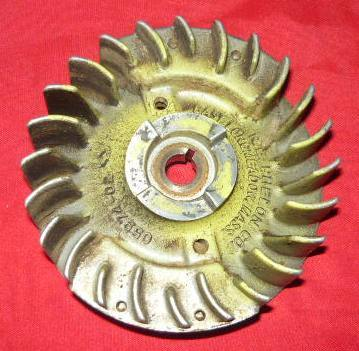Pioneer Holiday 1073 1074 Chainsaw Points Flywheel