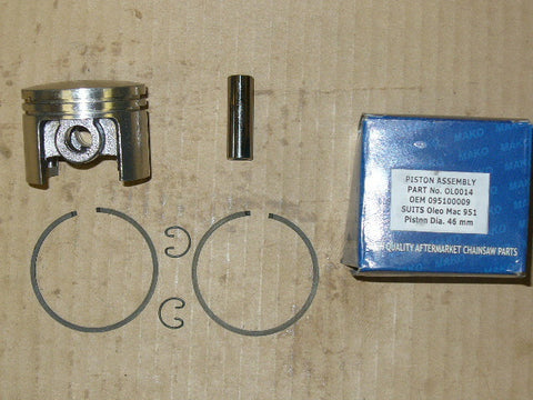 Efco Olympyk 951 chainsaw piston assembly 46mm OL0014 (Box G)