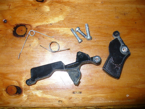 Used John Deere Parts >> Poulan 3400-4000 Craftsman 3.7 Chainsaw Throttle trigger kit | Chainsawr