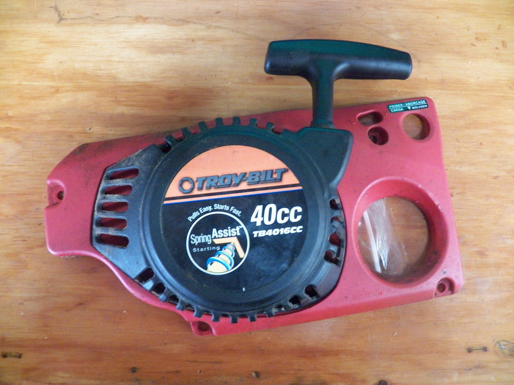 Troy-bilt tb4218cc, 42c chainsaw starter assembly complete ...