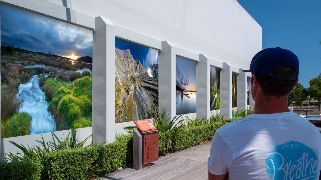 Artist Impression Outdoor Landscape Photography Exhibition