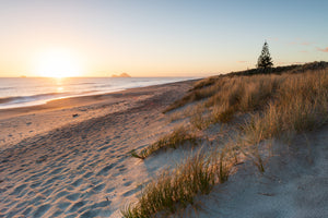 Sunrise over Te Awa e te Atua Beach, Matata