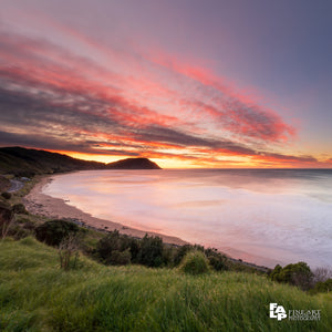 Sunrise over Northern Makorori Headland, Makorori