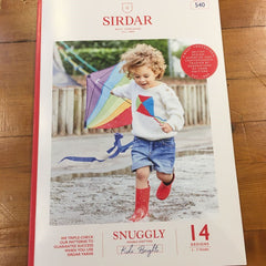 Front cover of Brights book showing a kid wearing a jumper with a bright kite motif