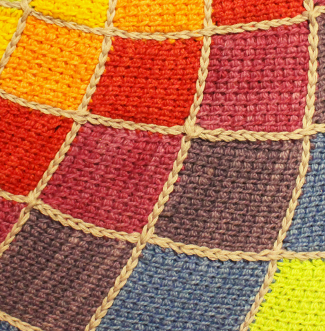 Closeup of Sunny Daze Blanket