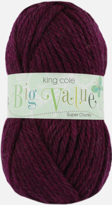 King Cole Big Value Super Chunky 100g