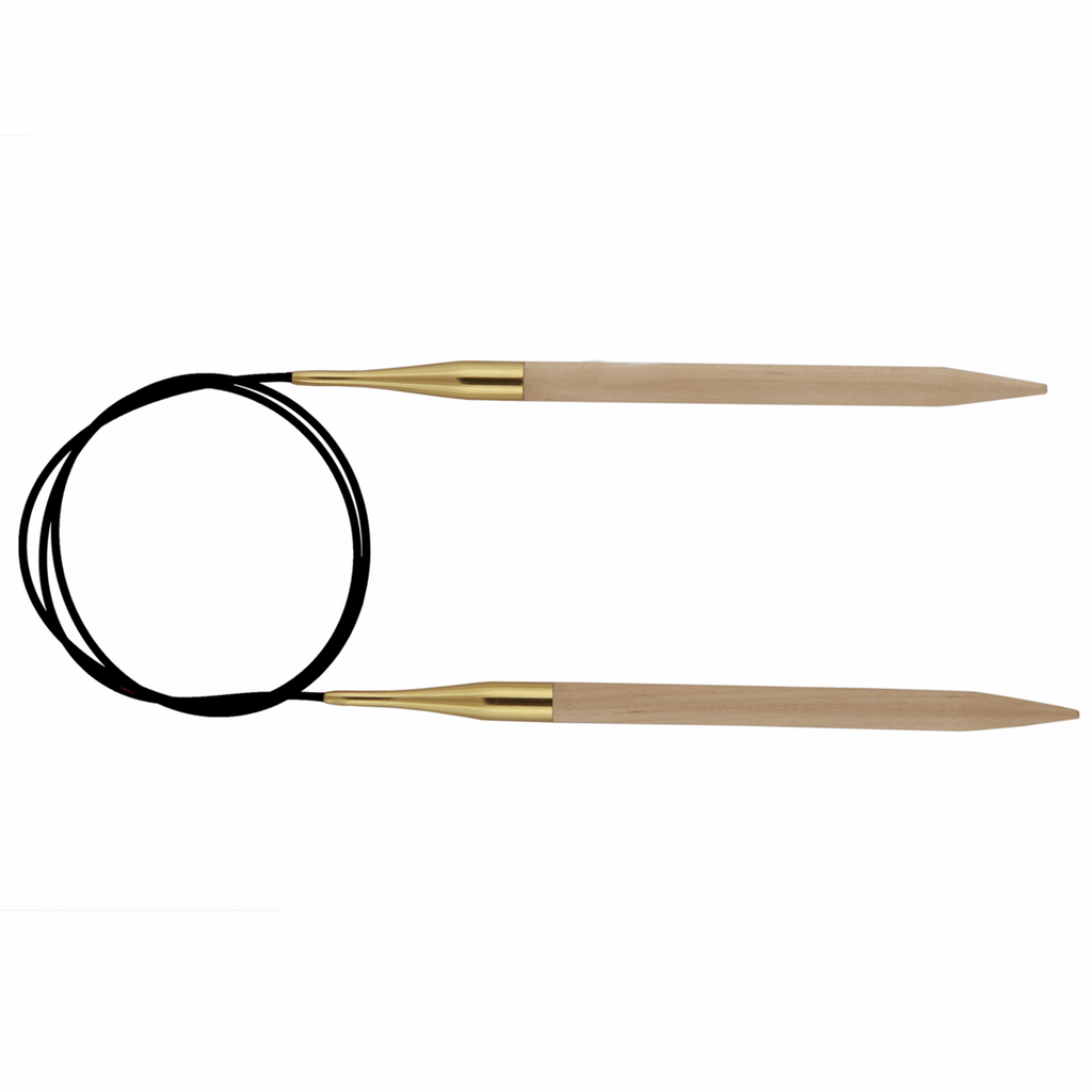 KnitPro Basix Birch Fixed Circular Knitting needle