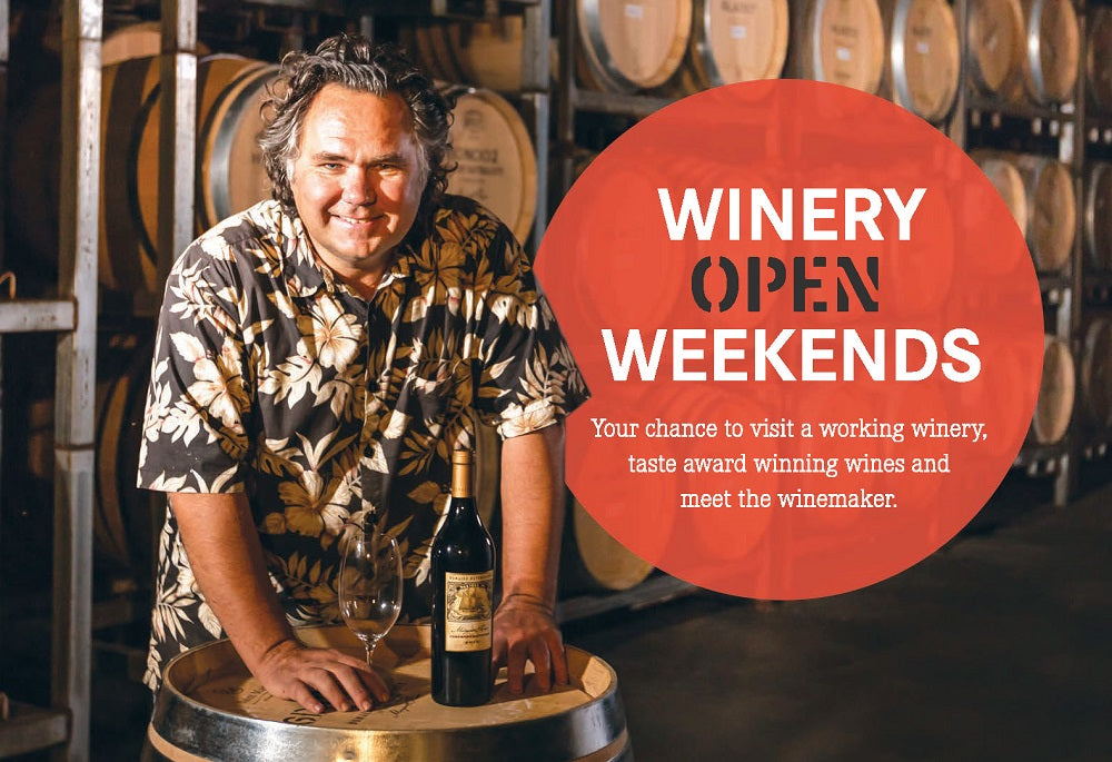 Winery Open Weekend