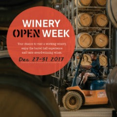 Winery Open WEEK!