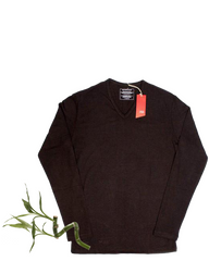 Men's L/S Bamboo Top (Emb)
